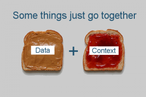 data and context go better together